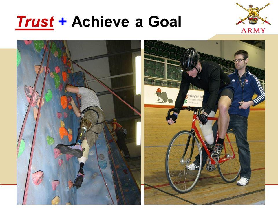 Trust + Achieve a Goal