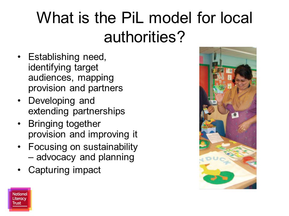 What is the PiL model for local authorities.
