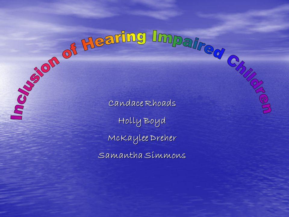 Candace Rhoads Holly Boyd McKaylee Dreher Samantha Simmons