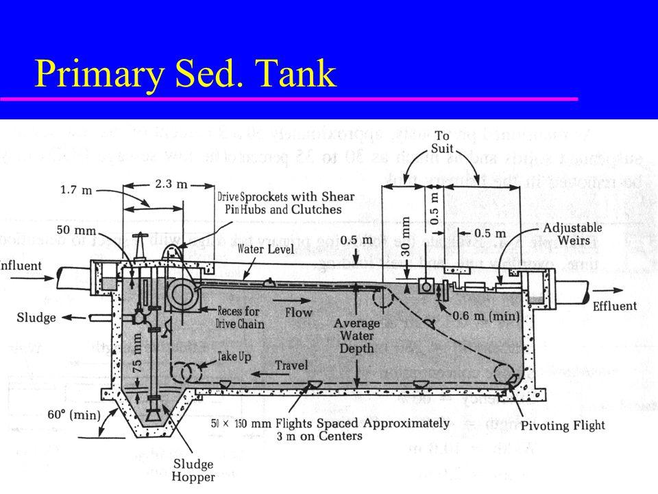 Primary Sed. Tank