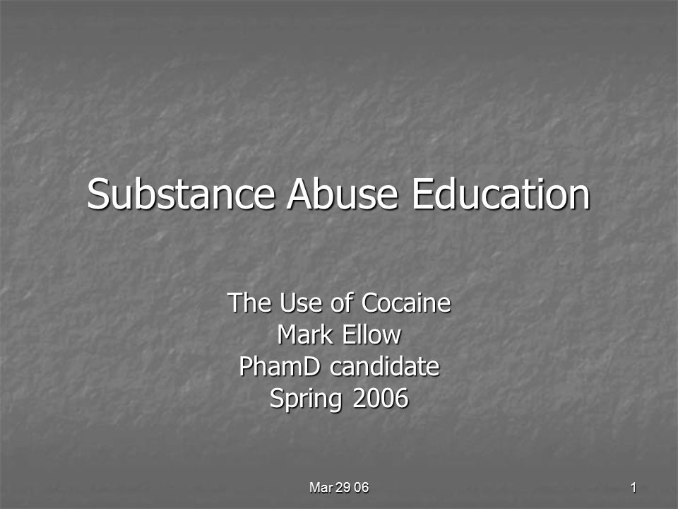 Mar 29 0612 Cocaine Pharmacology Produces an anesthetic effect.