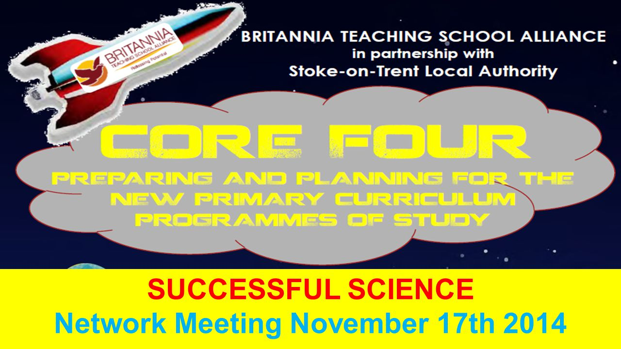 SUCCESSFUL SCIENCE Network Meeting November 17th 2014