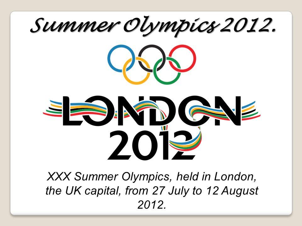 Summer Olympics 2012.