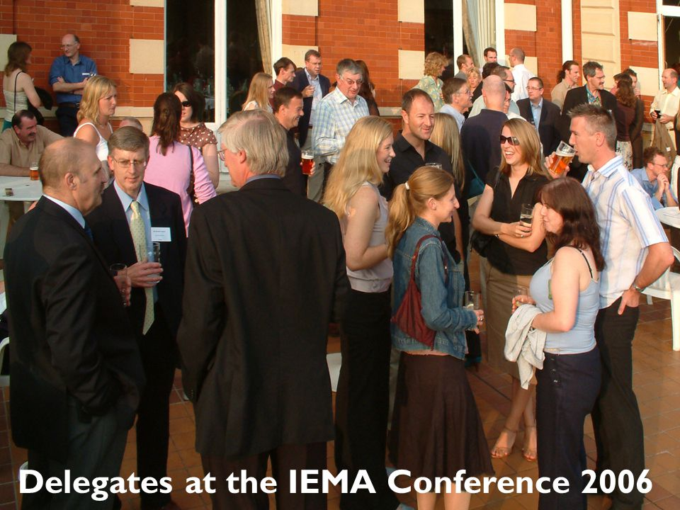 Delegates at the IEMA Conference 2006