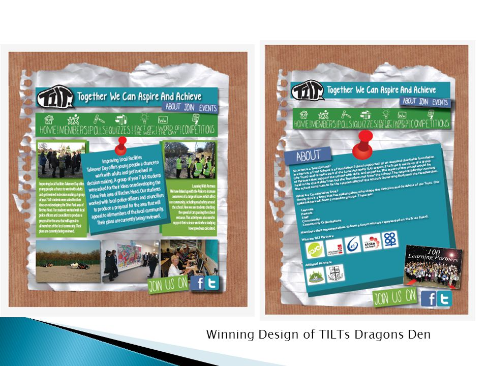 Winning Design of TILTs Dragons Den