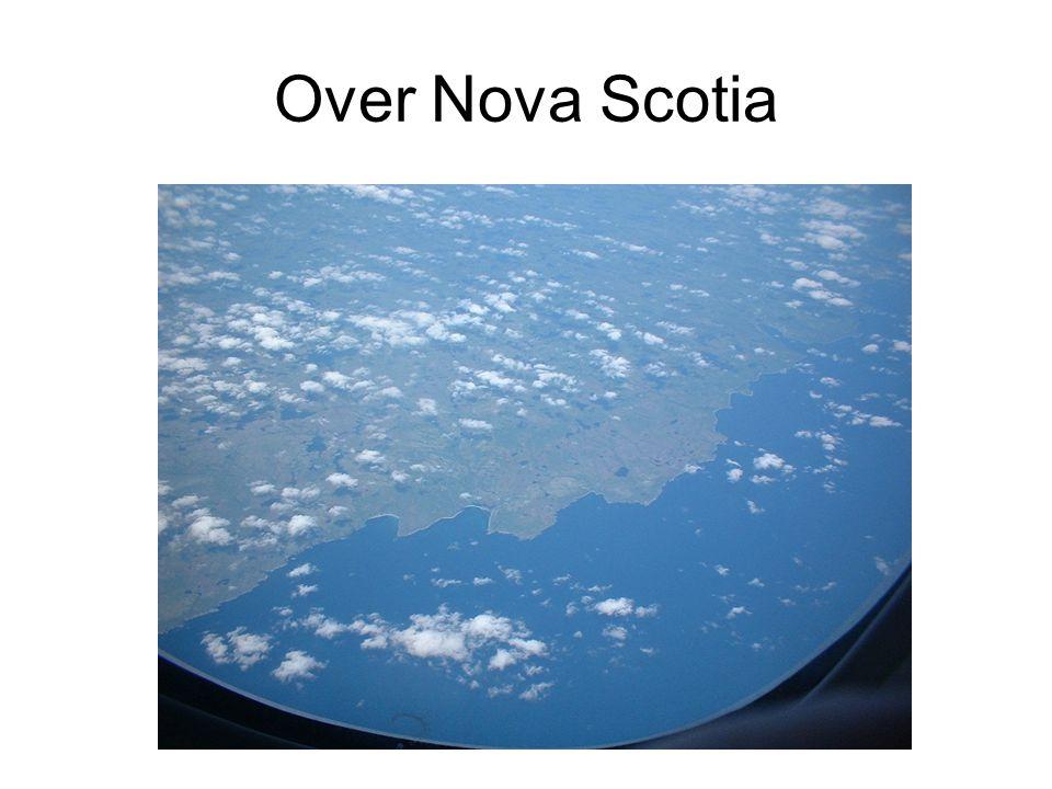 Over Nova Scotia