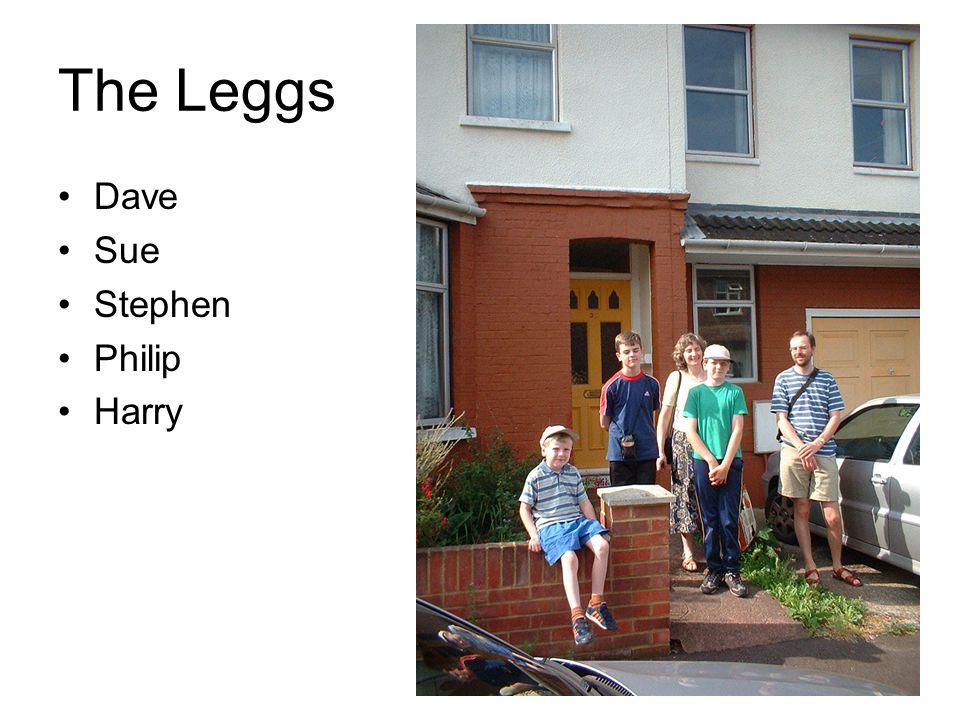 The Leggs Dave Sue Stephen Philip Harry