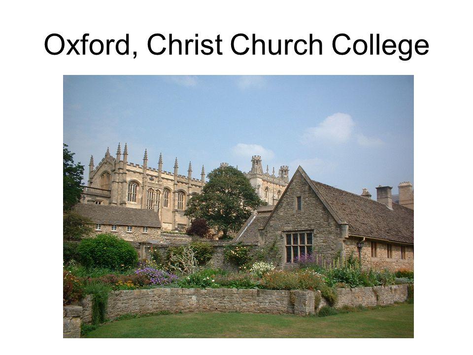Oxford, Christ Church College