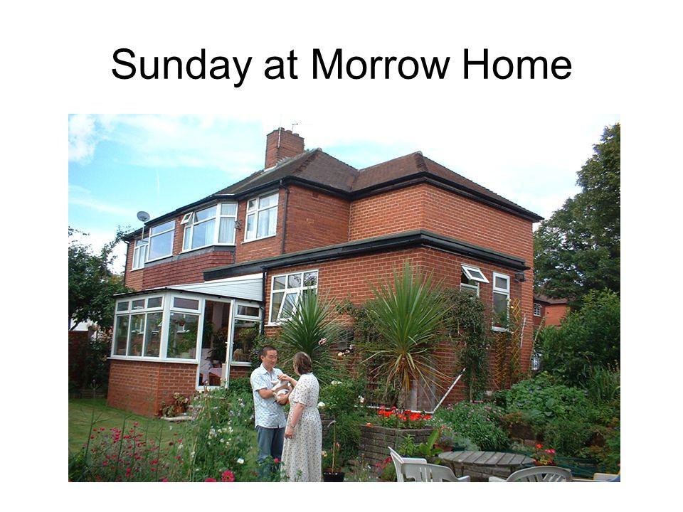 Sunday at Morrow Home
