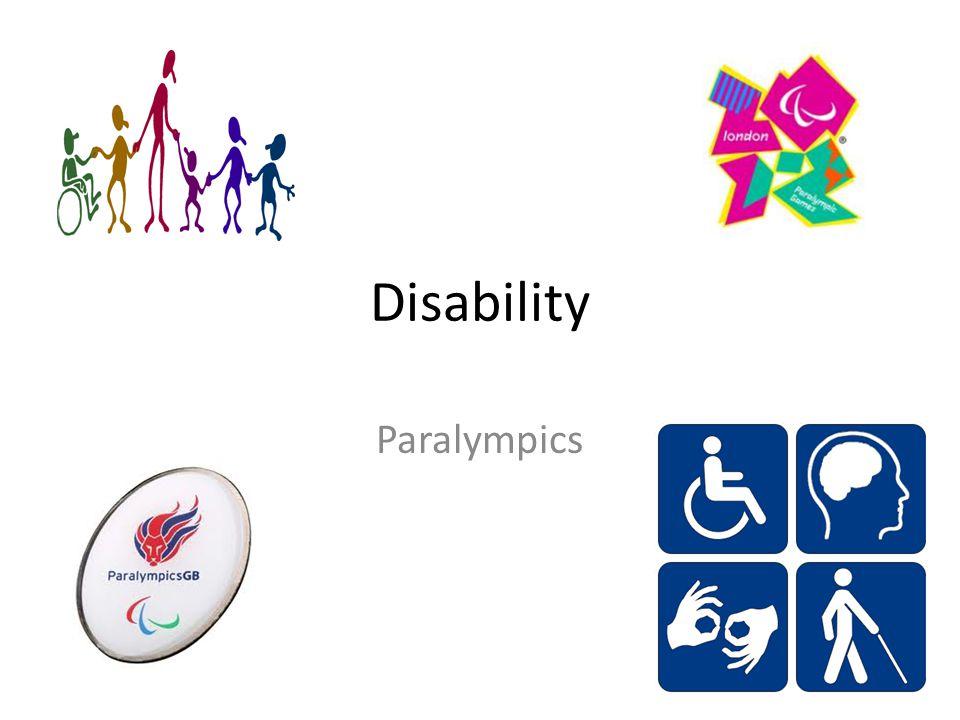 Disability Paralympics