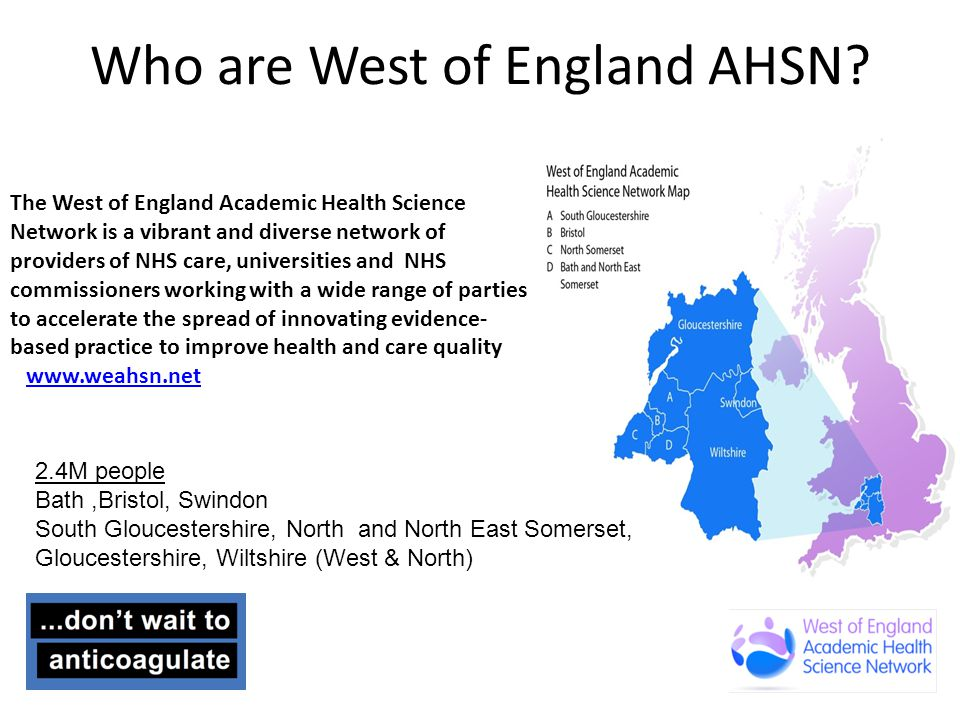 Who are West of England AHSN.