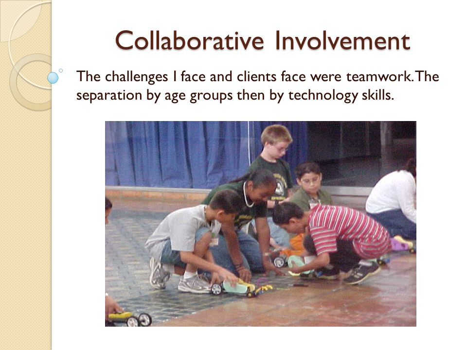 Collaborative Involvement The entities I used to connect were advertisement in the Brownsville Herald.