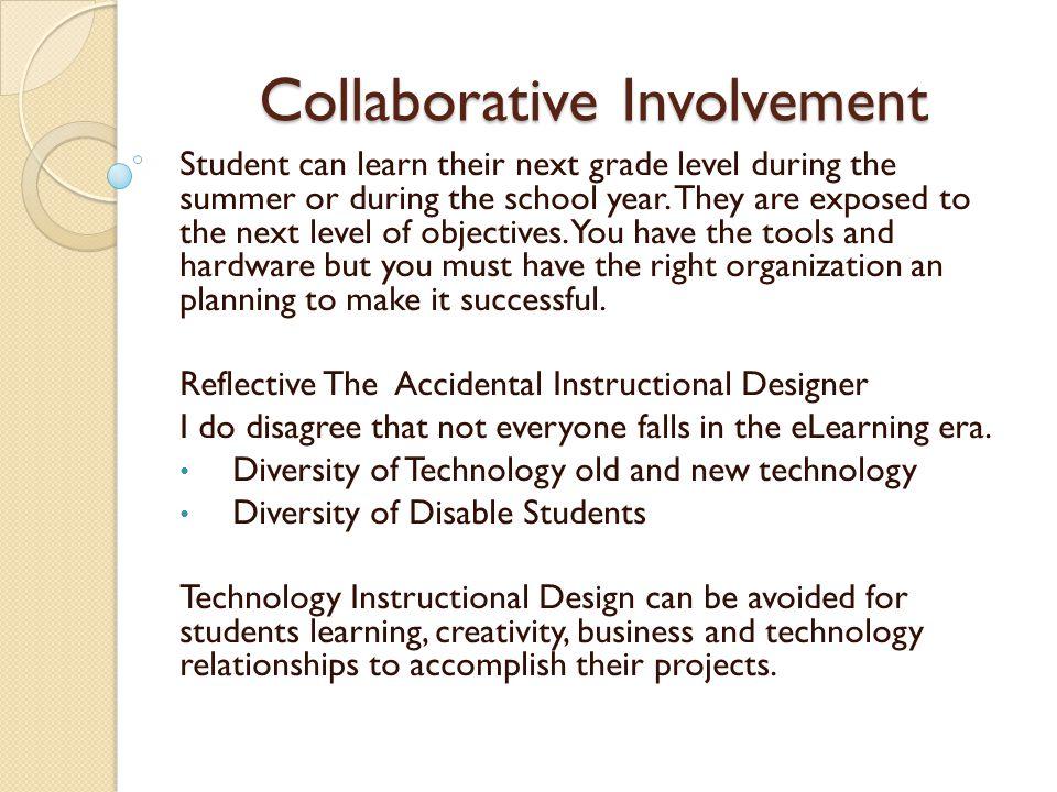 Collaborative Involvement 1.