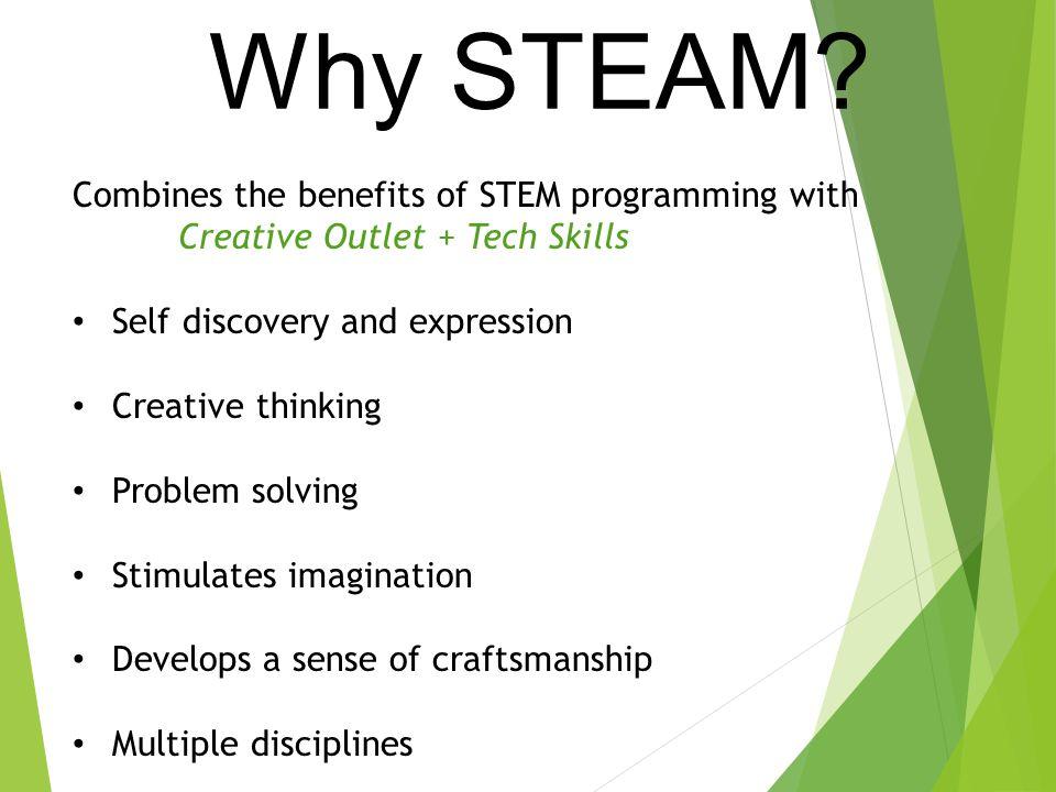 Why STEAM.