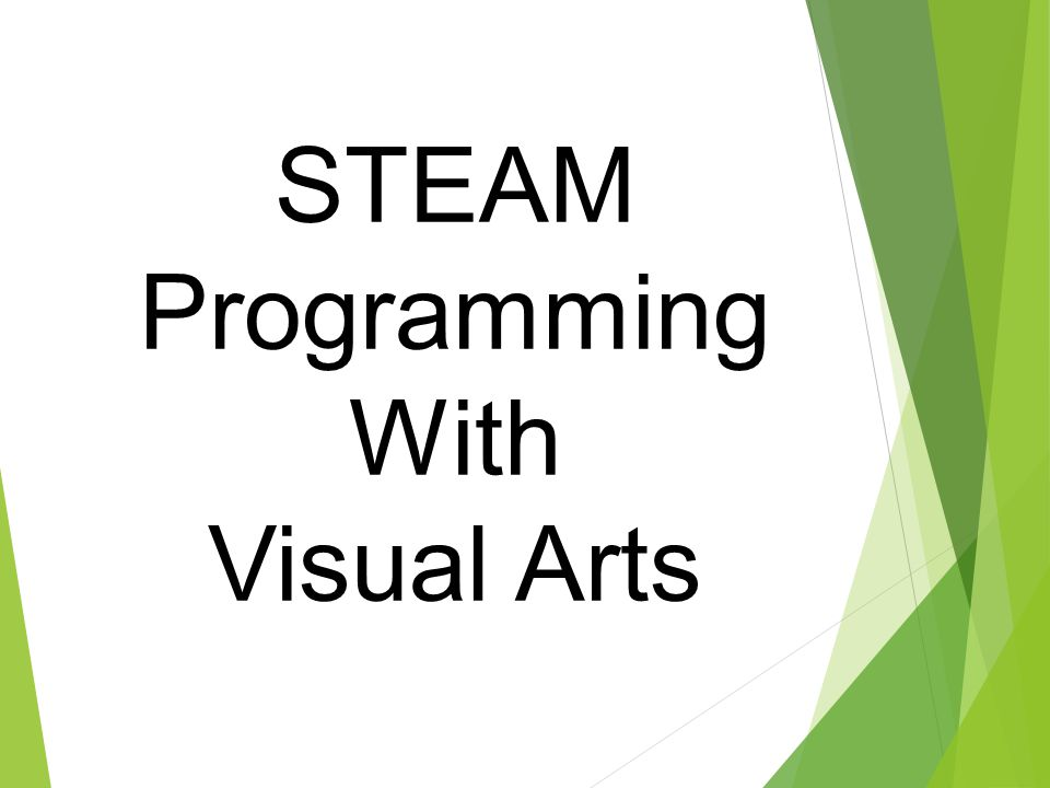 STEAM Programming With Visual Arts