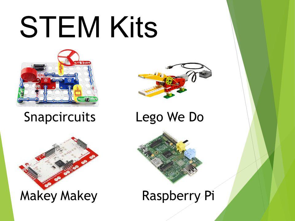 STEM Kits SnapcircuitsLego We Do Makey Raspberry Pi