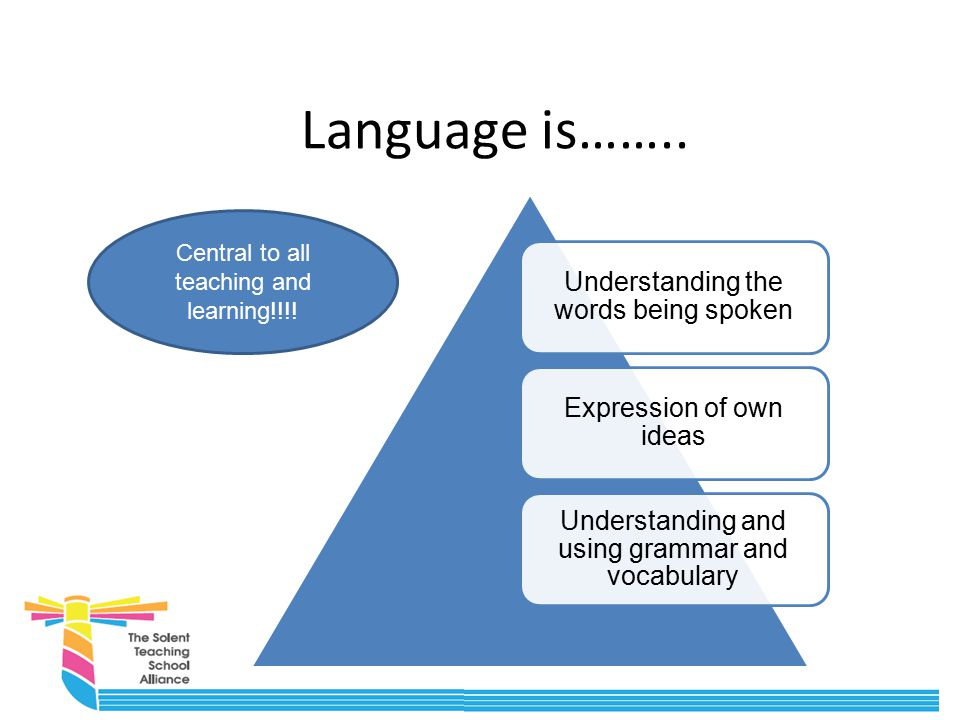 Support for expressive language in the classroom What do we do already.
