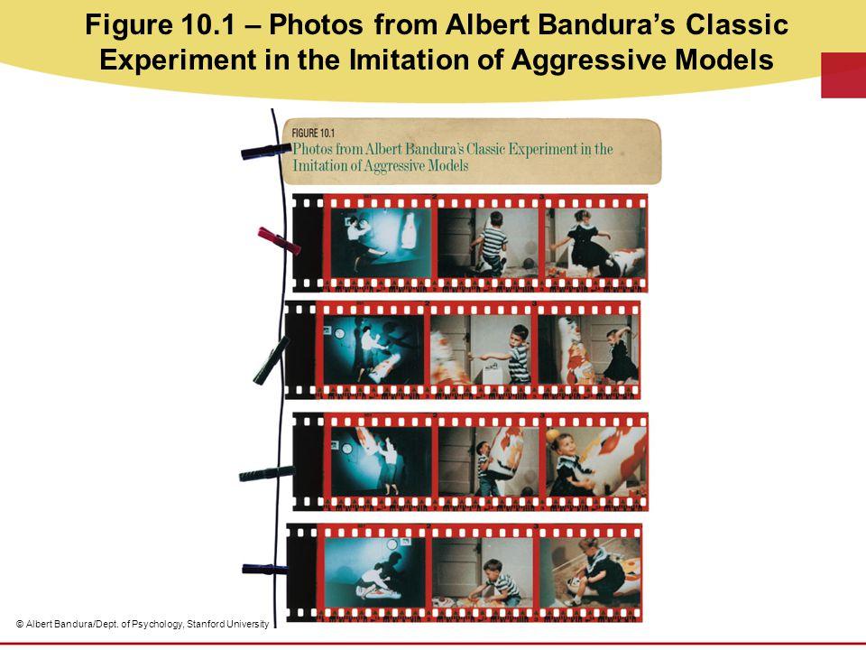 Figure 10.1 – Photos from Albert Bandura's Classic Experiment in the Imitation of Aggressive Models © Albert Bandura/Dept. of Psychology, Stanford Uni