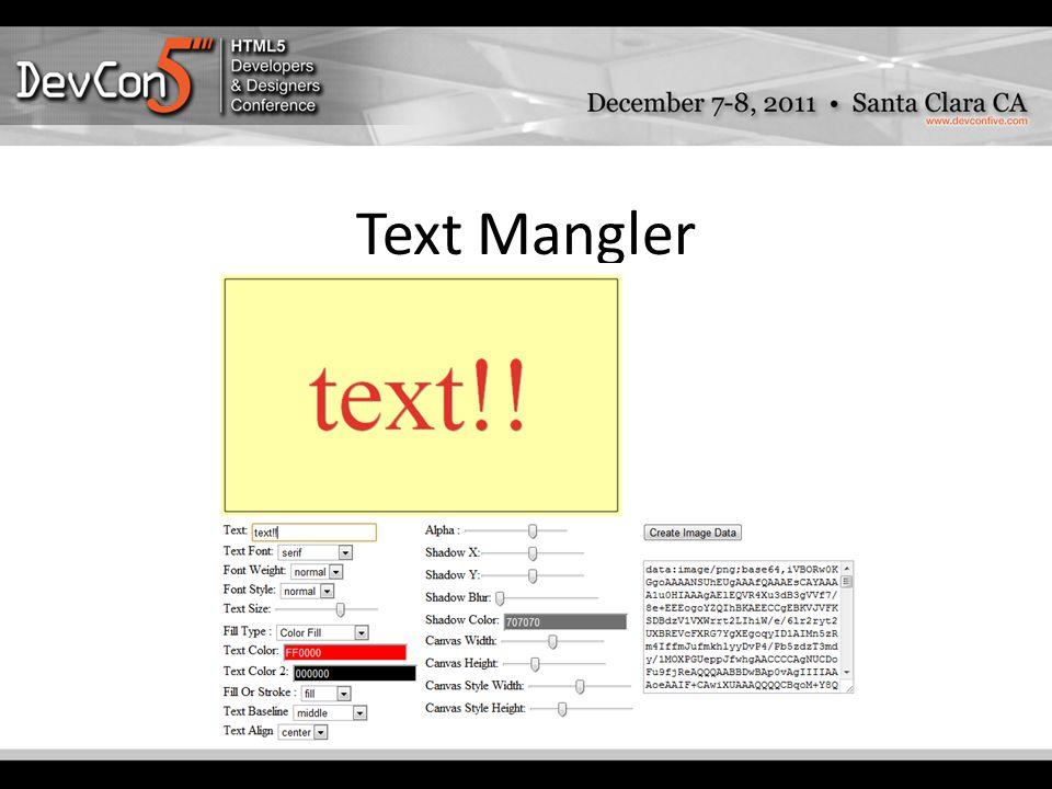 Text Mangler