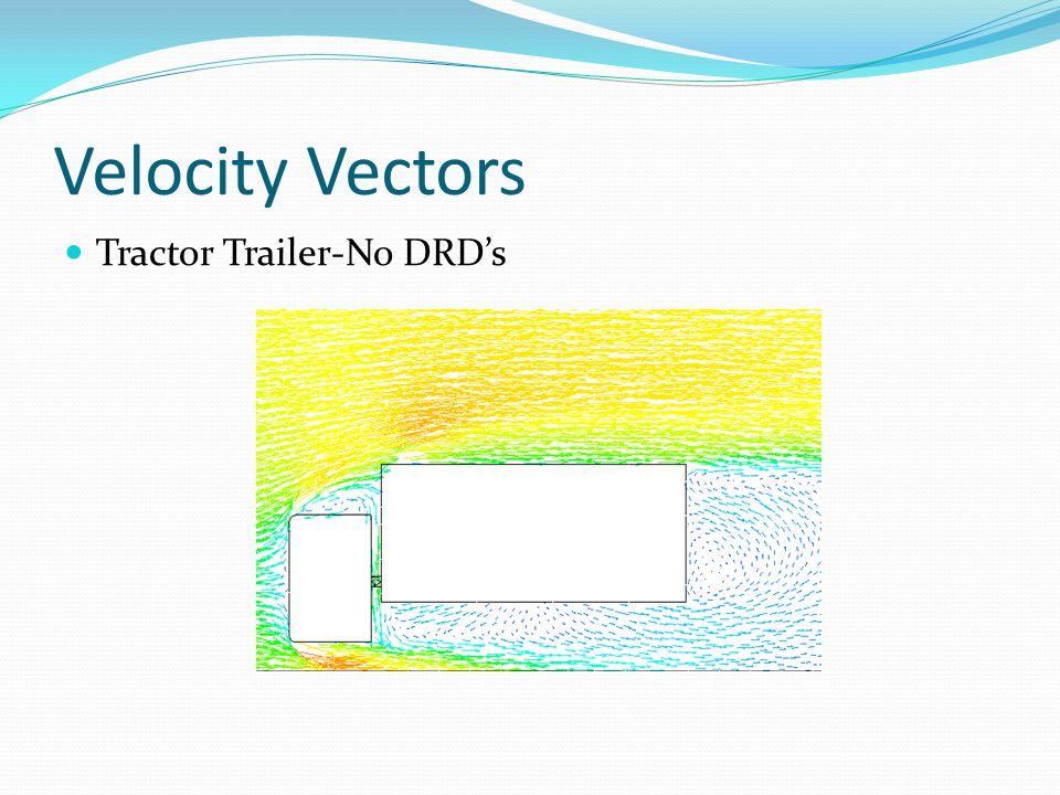 Velocity Vectors Tractor Trailer-No DRD's