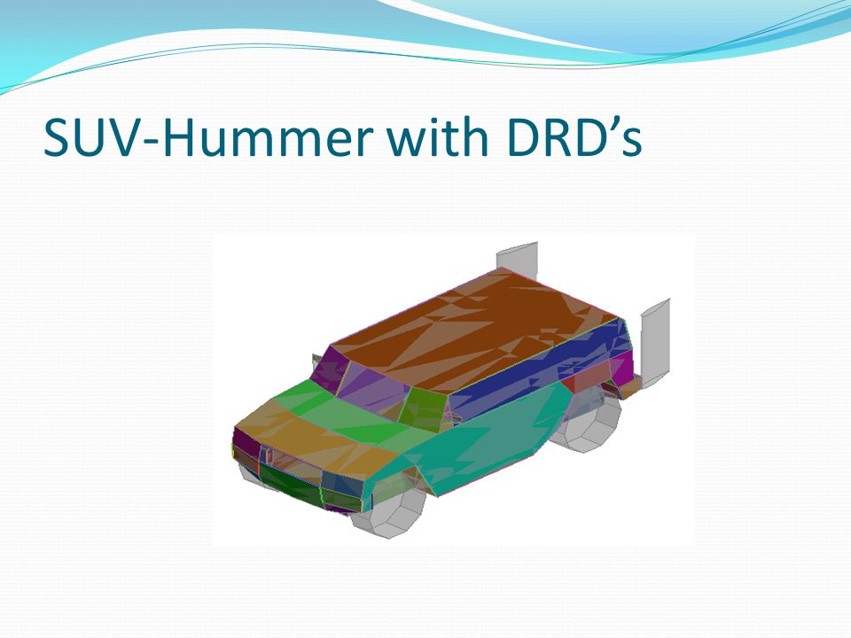 SUV-Hummer with DRD's