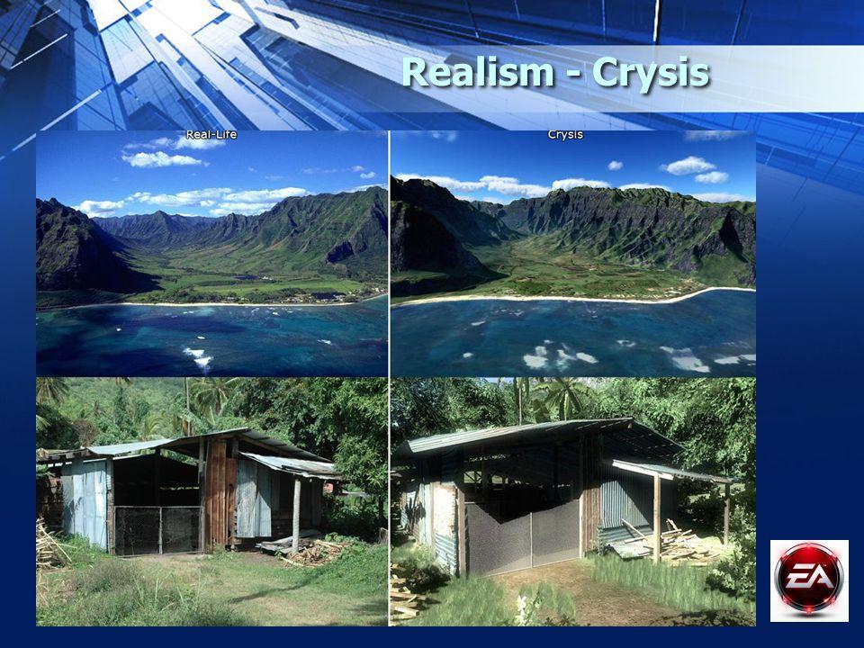 Realism - Crysis