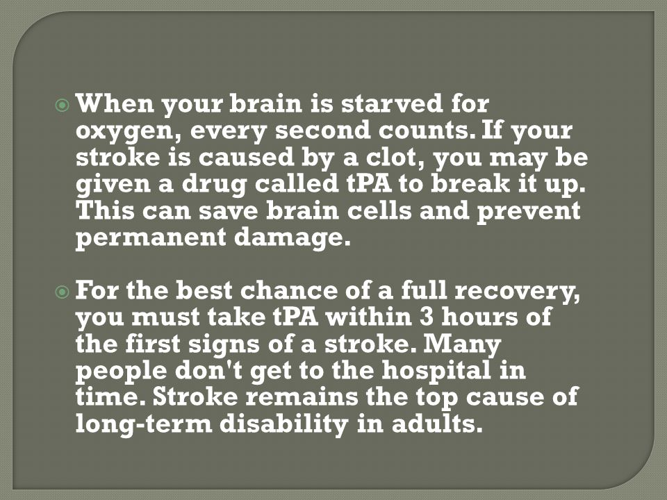 If you're angry a lot, you may be more likely to have a stroke.  True  False