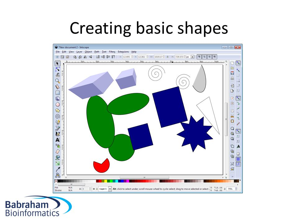 Creating basic shapes