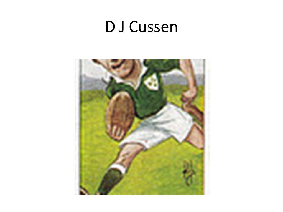 D J Cussen