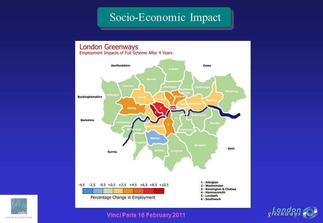 Vinci Paris 16 February 2011 Socio-Economic Impact