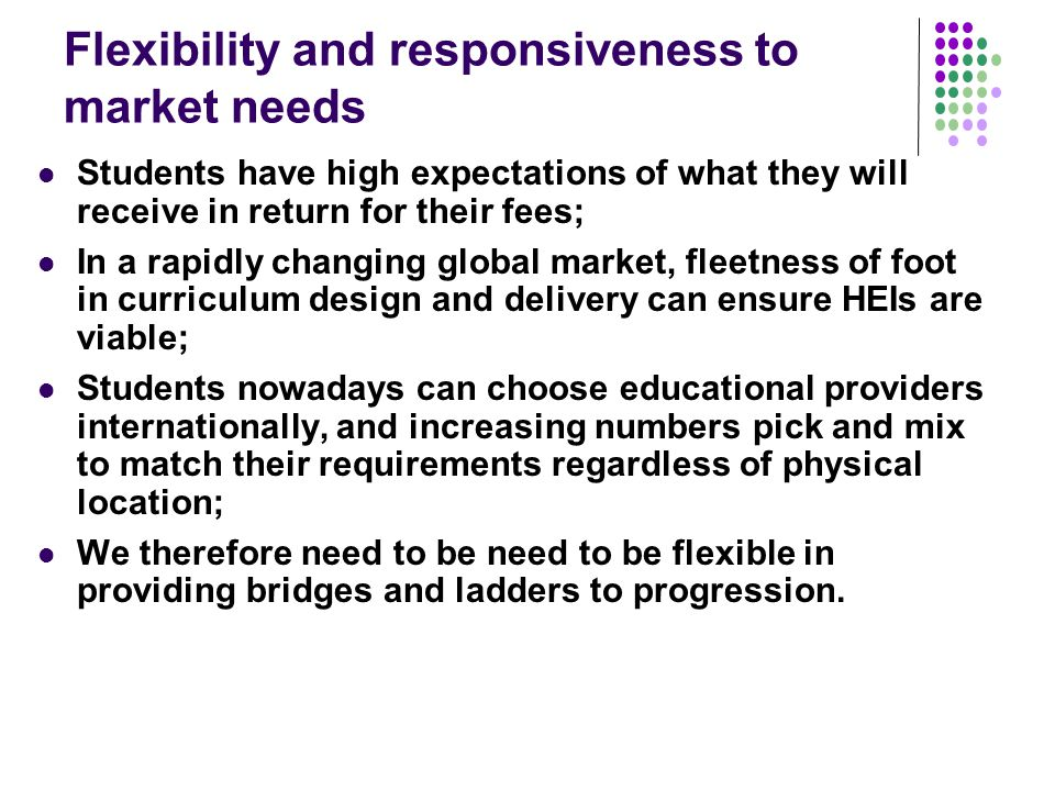 Teaching for learning Is there a coherent model of progression across programmes.