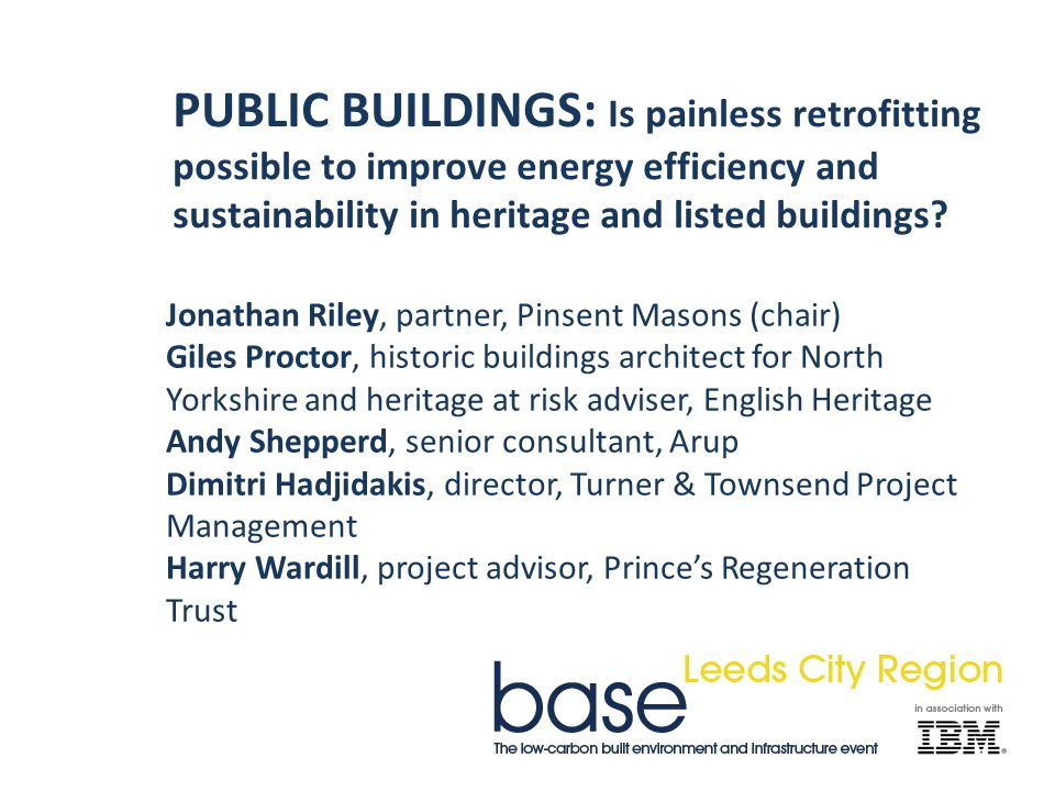 PUBLIC BUILDINGS: Is painless retrofitting possible to improve energy efficiency and sustainability in heritage and listed buildings.