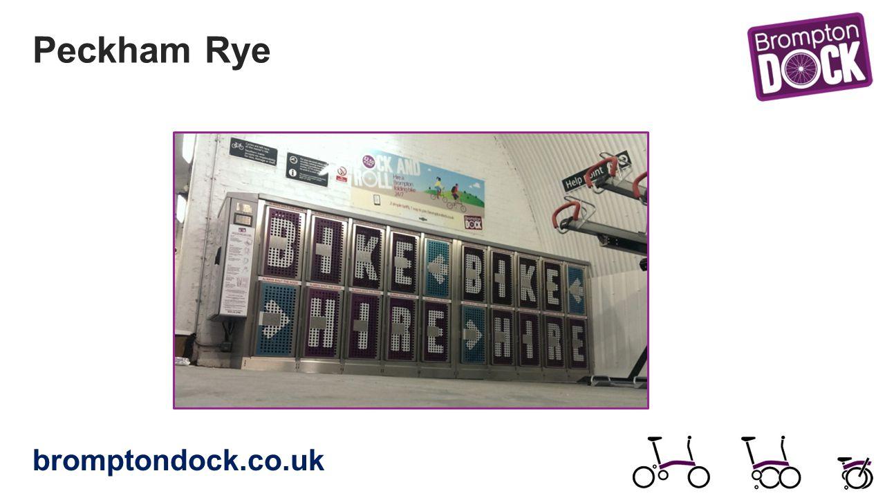 Peckham Rye bromptondock.co.uk