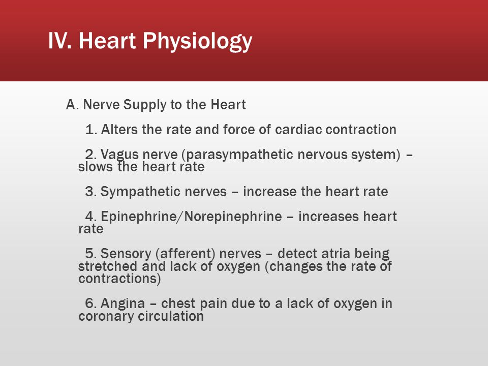 IV.Heart Physiology B. Intrinsic Conduction System – Automaticity 1.
