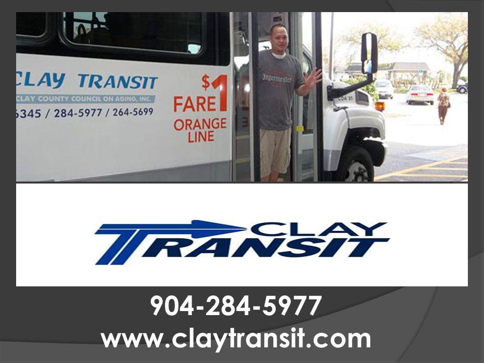 TRANSPORTATION 904-284-5977 www.claytransit.com