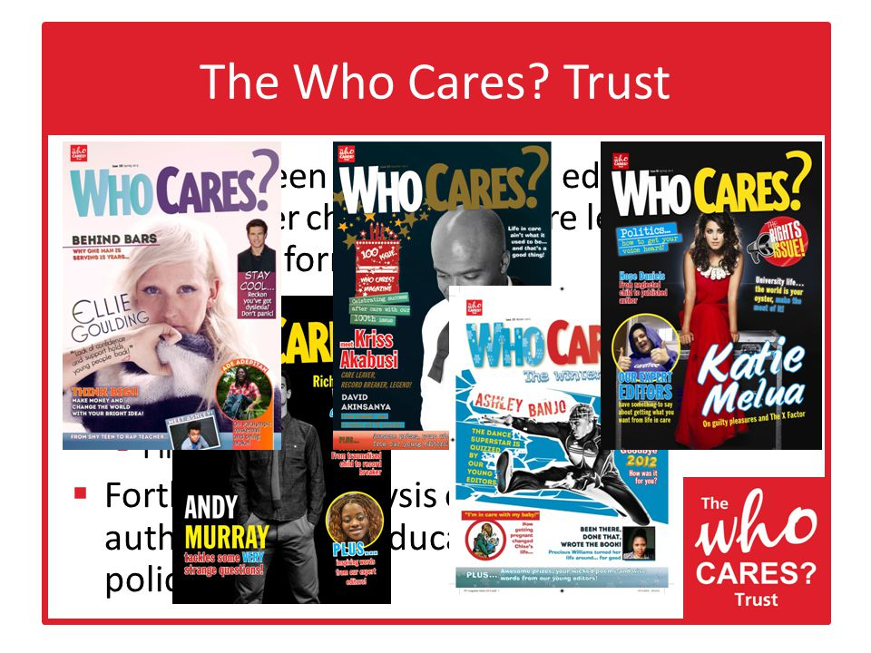 The Who Cares.