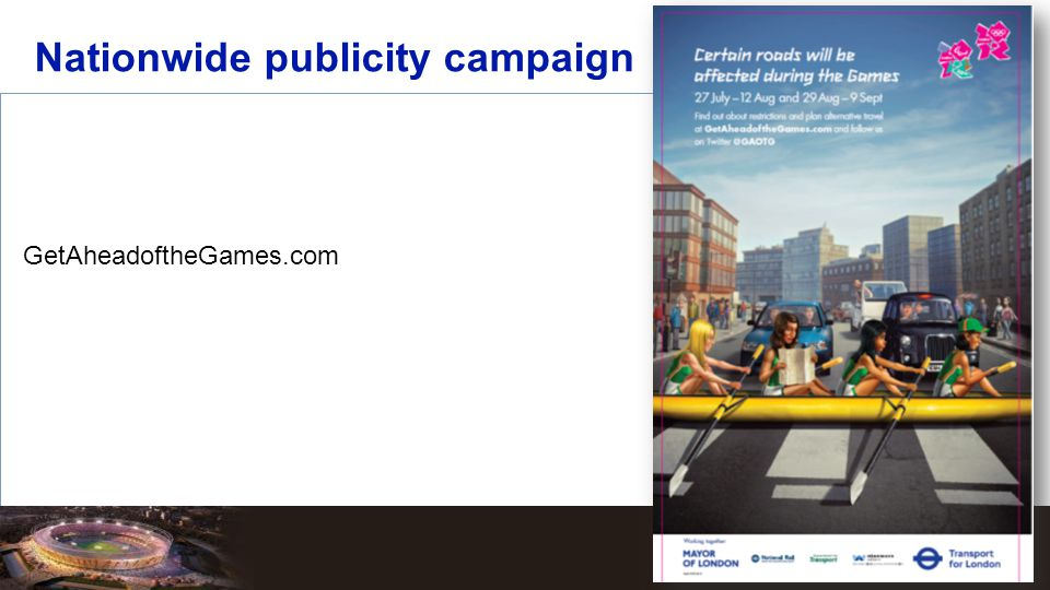 Nationwide publicity campaign GetAheadoftheGames.com