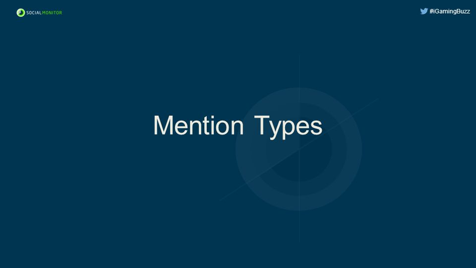 #iGamingBuzz Mention Types
