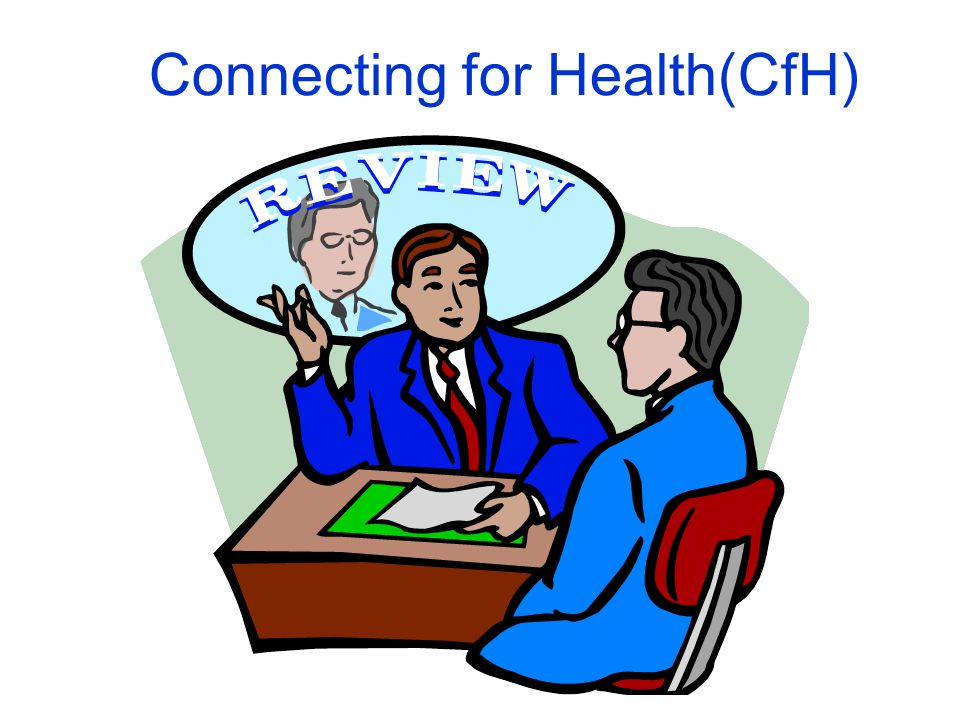 Connecting for Health(CfH) What can be done?
