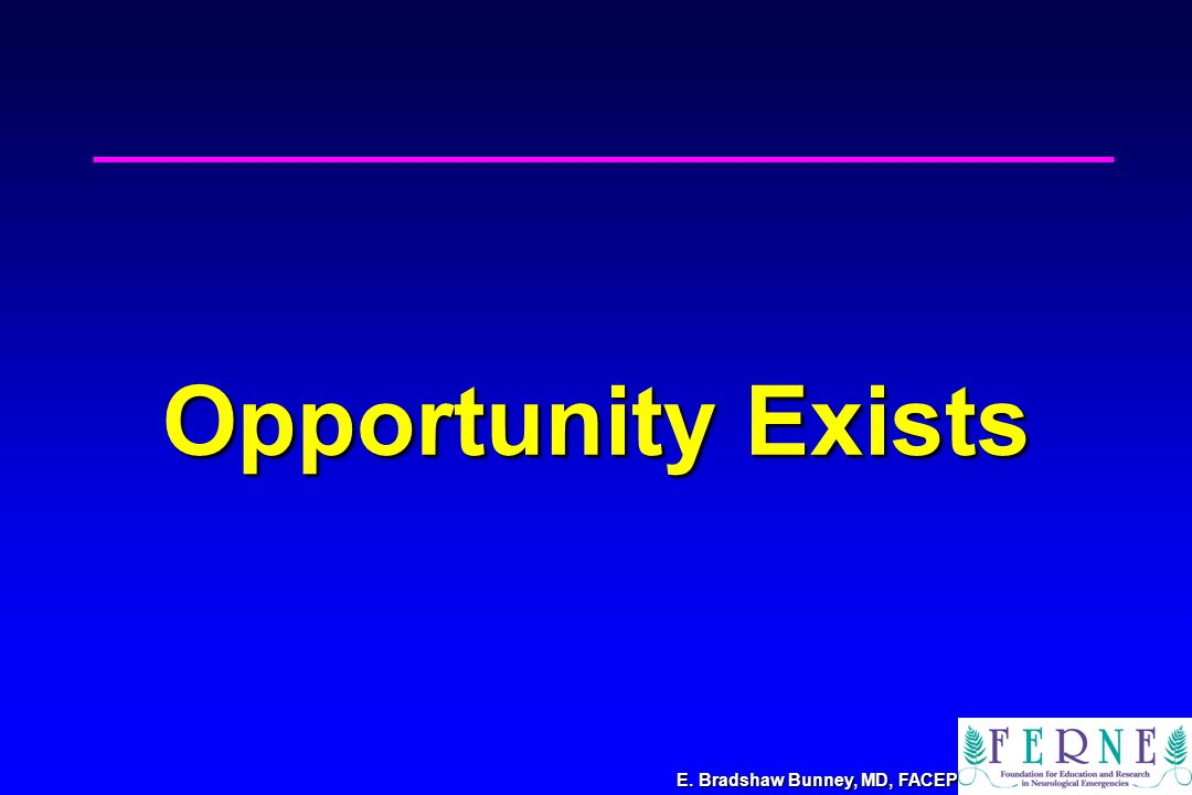 Opportunity Exists