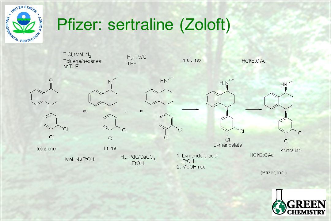 Pfizer: sertraline (Zoloft) (Pfizer, Inc.)