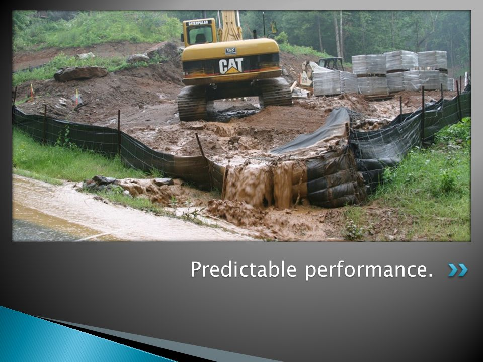 Predictable performance.