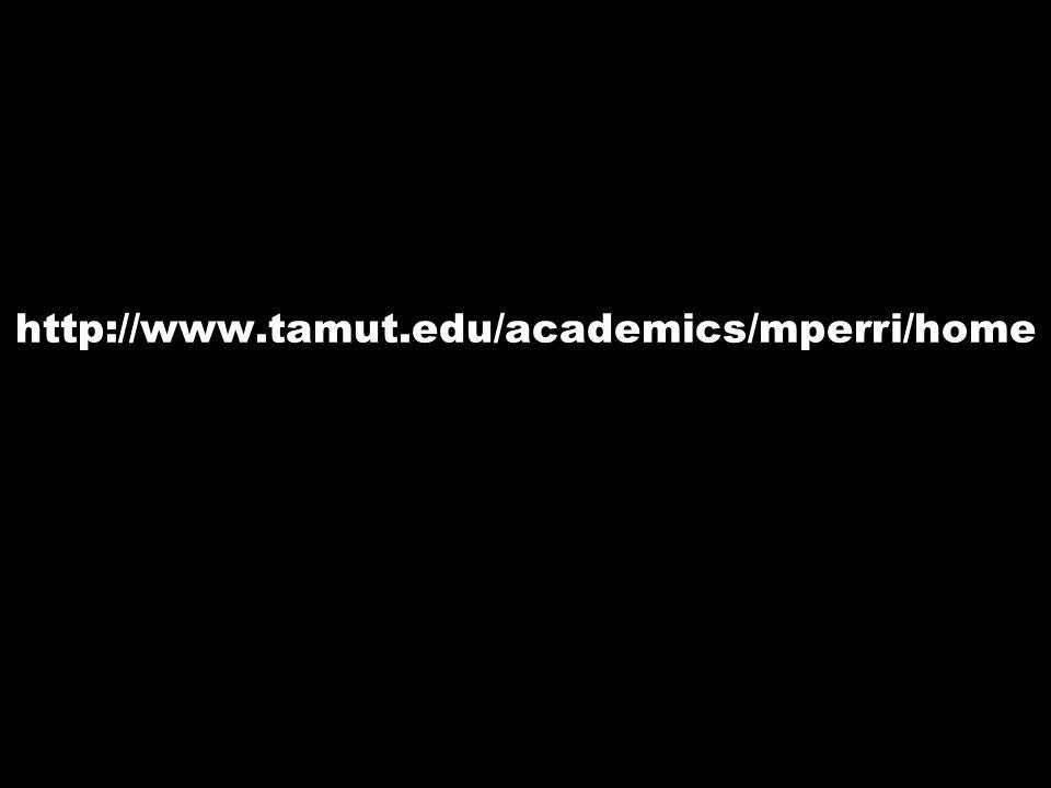 http://www.tamut.edu/academics/mperri/home