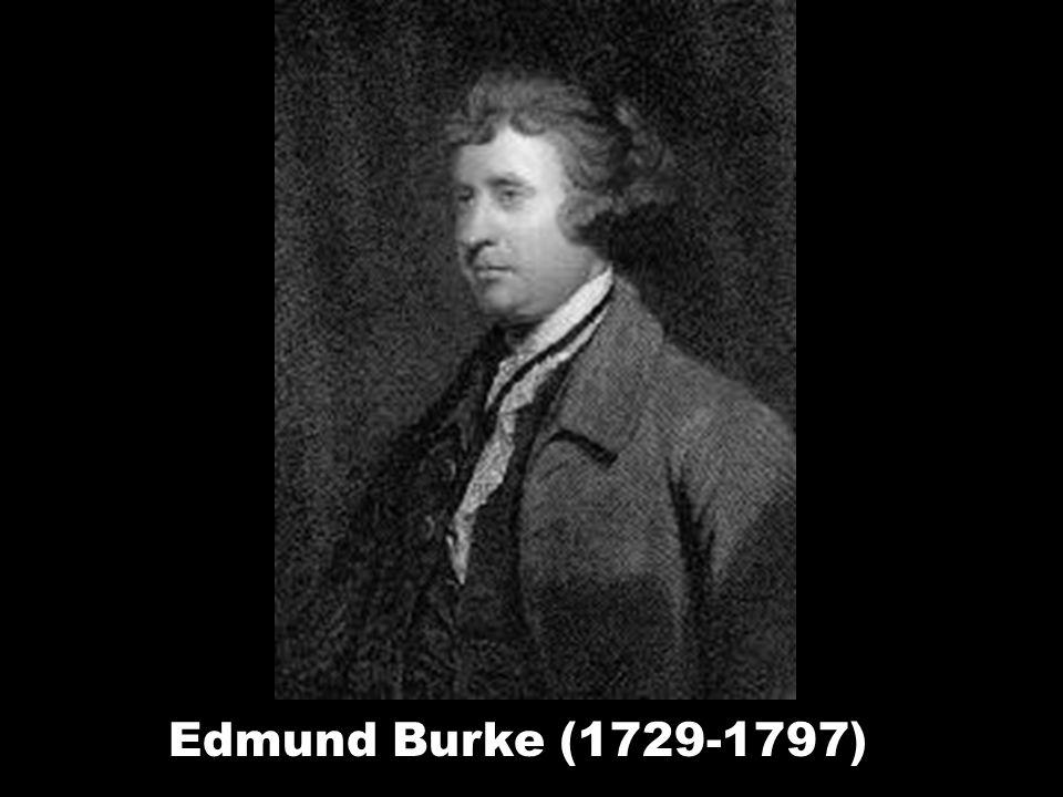 Edmund Burke (1729-1797)