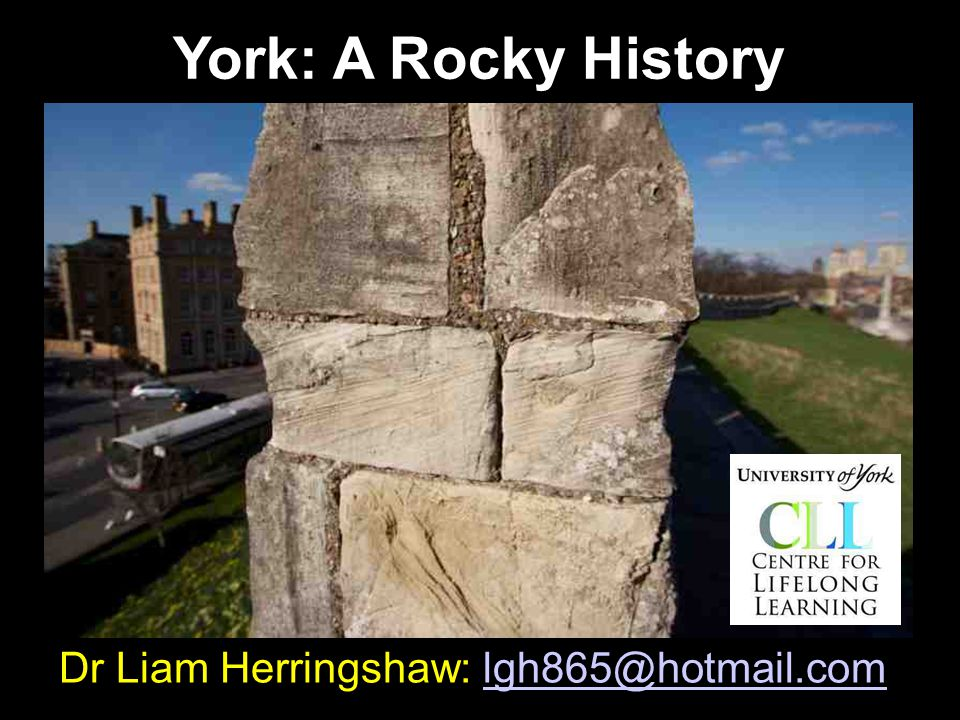 @fossiliam s Shameless Plugs Professor Herring's MOST INGENIOUS, GEOPHANTASMAGORICAL & NATURALLY HYSTERICAL GUIDE TO YORK York Festival of Ideas, Sunday June 14 th, 2pm & 3.30pm.