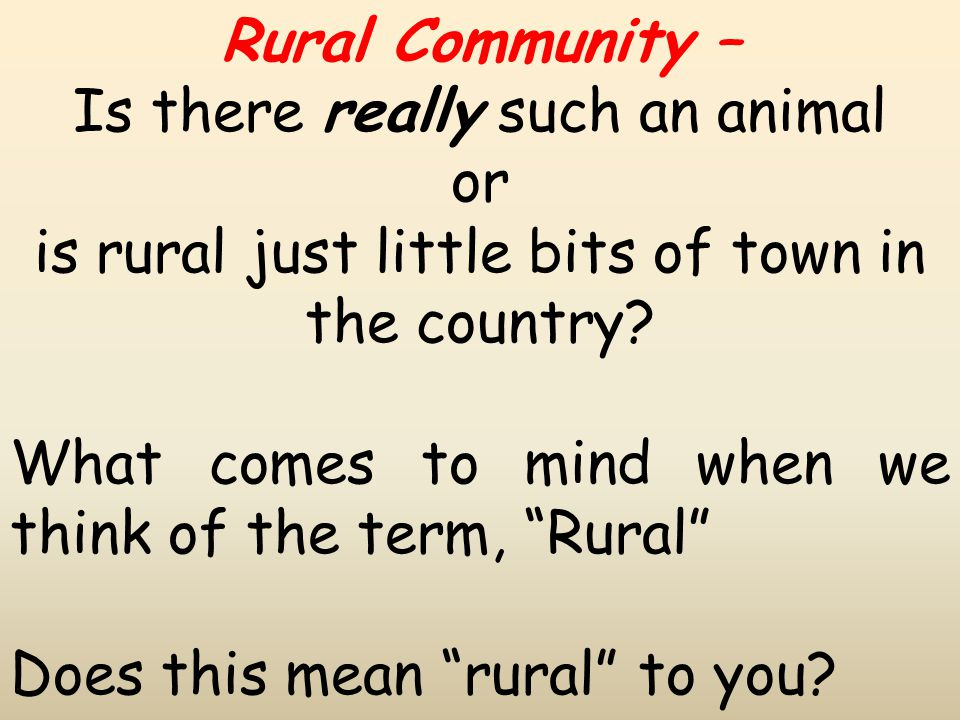 Changing roles for the church As a result of the change in village and community life, churches need to adapt also Unlike a lot of urban churches, rural churches have an acknowledged part in rural communities Churches are being used more often now as community buildings for meetings, groups etc.