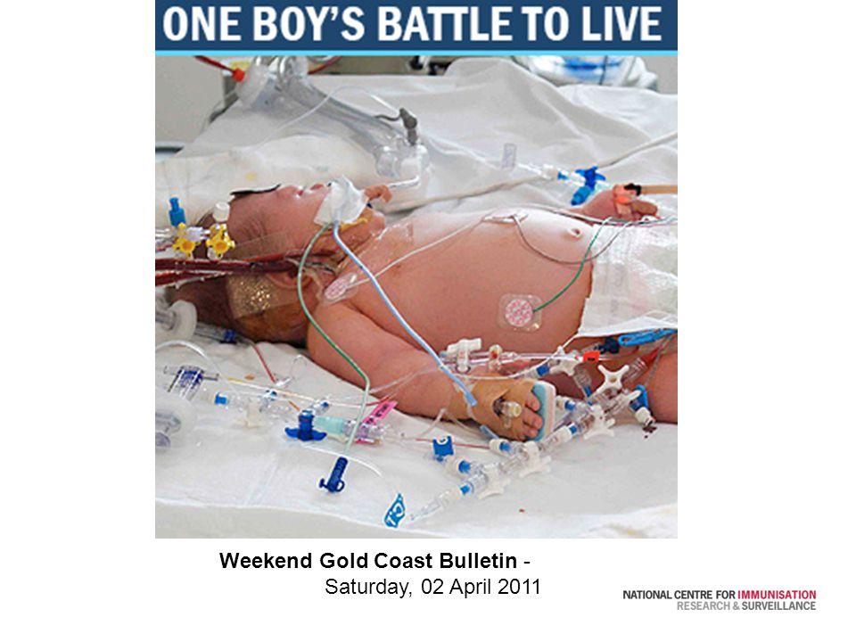Weekend Gold Coast Bulletin - Saturday, 02 April 2011