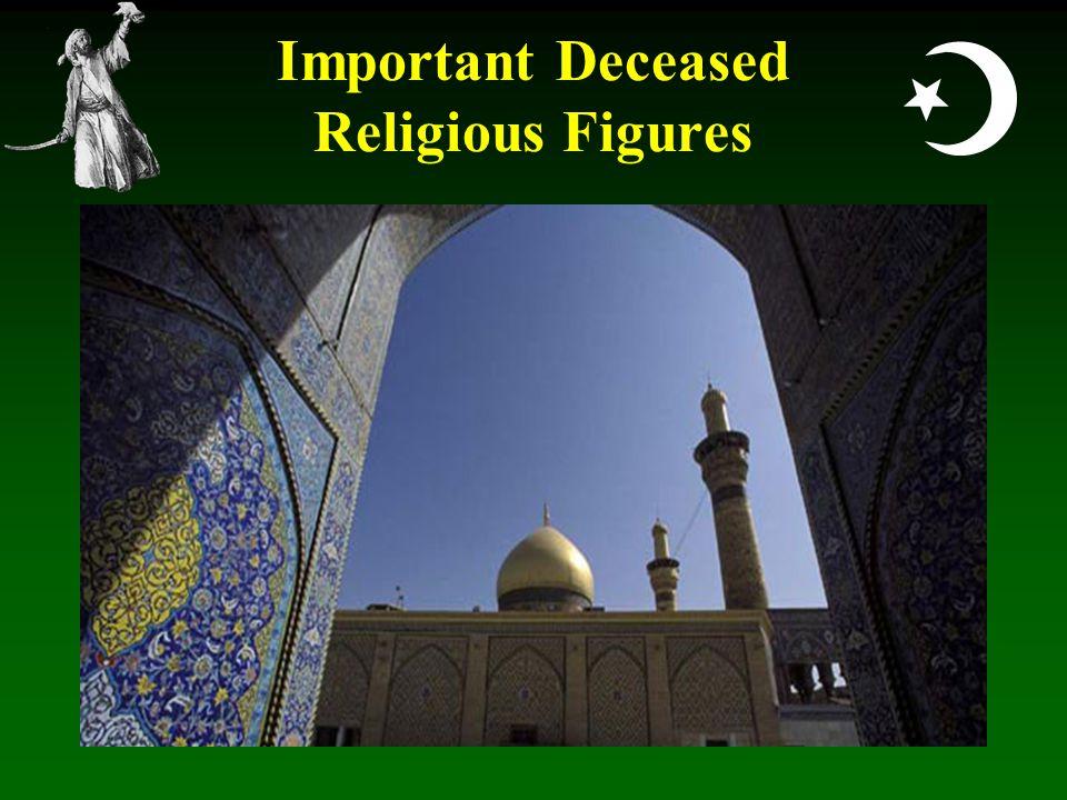  Important Deceased Religious Figures