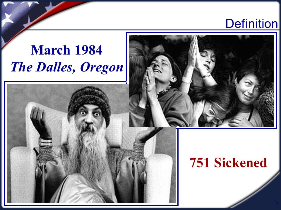V March 1984 The Dalles, Oregon 751 Sickened