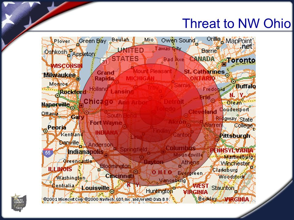 Threat to NW Ohio